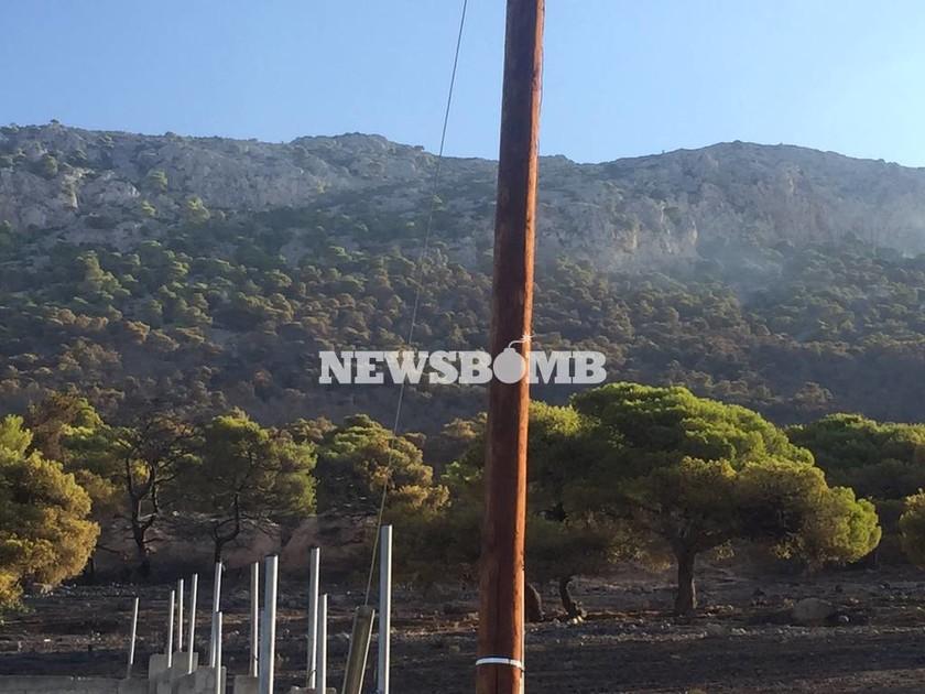 Πύρινη κόλαση στη Χίο: Έξι τραυματίες, σοβαρά μία γυναίκα