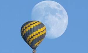 Η νέα τουριστική ατραξιόν της Θεσσαλονίκης: Βόλτα στα σύννεφα με αερόστατο