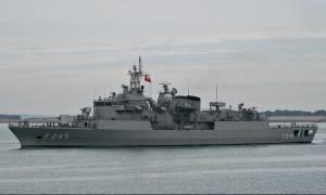Προκαλεί η Άγκυρα - Τουρκική φρεγάτα προς κυπριακό σκάφος: «Φύγετε από την θάλασσα μας»