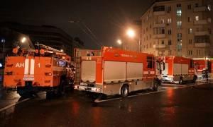 Πυρκαγιά στη Μόσχα άφησε πίσω της 16 νεκρούς - Έρευνα για εγκληματική ενέργεια
