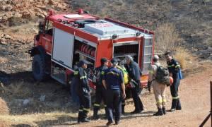 Φωτιά μαίνεται σε Αιτωλοακαρνανία και Νεμέα