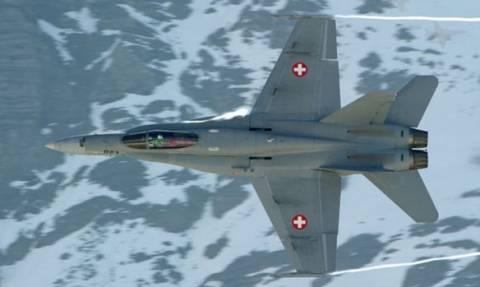 Ελβετία: Αγνοείται στρατιωτικό αεροσκάφος - Πιθανότατα έχει συντριβεί