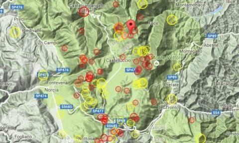 Ο τρόμος επέστρεψε στην Ιταλία: Nέα σεισμική δόνηση