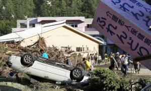 Ο τυφώνας Lionrock σκόρπισε τον θάνατο στην Ιαπωνία - Δεκάδες αγνοούμενοι (pics+vid)