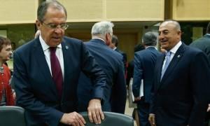 Τηλεφωνική επικοινωνία Λαβρόφ - Τσαβούσογλου για τη Συρία