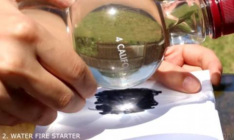 Απίστευτο βίντεο: Εσύ μπορείς να βάλεις φωτιά με νερό; (vid)