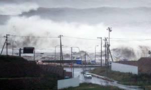Τραγωδία στην Ιαπωνία: Δεκάδες νεκροί από το πέρασμα τυφώνα