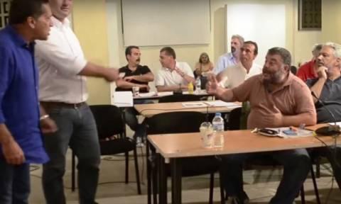Κεφαλονιά: Χάος και... βλασφημίες στο δημοτικό συμβούλιο (vid)