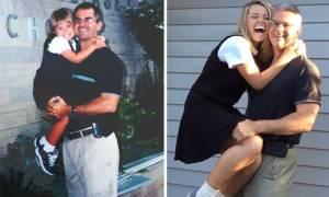 Είκοσι συγκινητικές φωτογραφίες της πρώτης μέρας στο σχολείο και της τελευταίας 12 χρόνια μετά