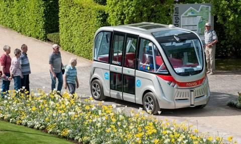 Γαλλία: Στους δρόμους της Λυών από σήμερα τα λεωφορεία χωρίς οδηγό