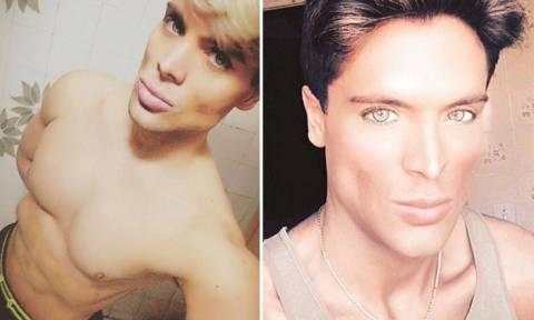 Βραζιλιάνος ηθοποιός αφαίρεσε δύο πλευρά για να μοιάζει στον φίλο της... Barbie (Photos)