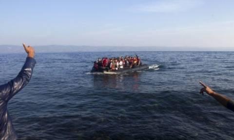 Μυτιλήνη: Μειώθηκε σε σχέση με τις προηγούμενες μέρες η ροή μεταναστών