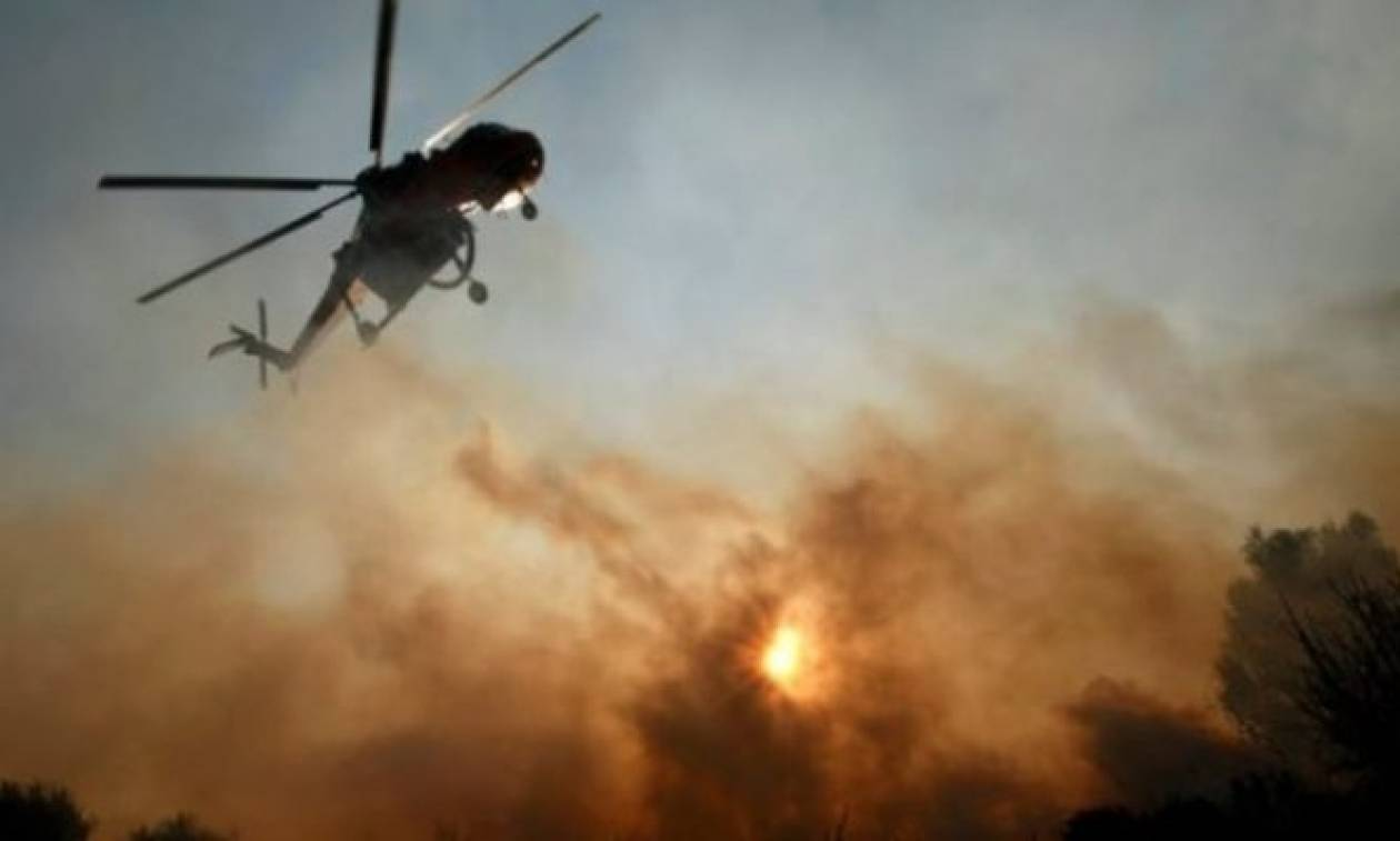 Στις φλόγες ξανά η Χίος