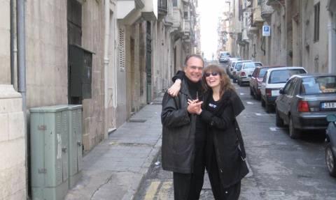 «Αγάπη μου, καλό σου ταξίδι», το συγκινητικό μήνυμα της συζύγου του Αλέξανδρου Βέλιου