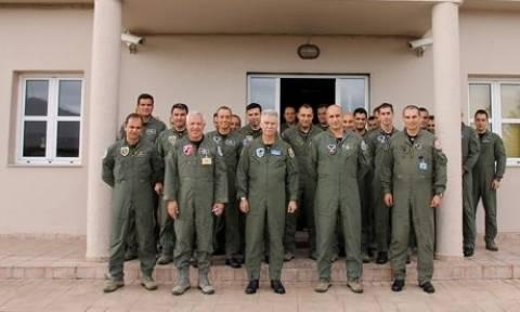Πολεμική Αεροπορία: Επίσκεψη Αρχηγού ΤΑ στην 115ΠΜ (pics)