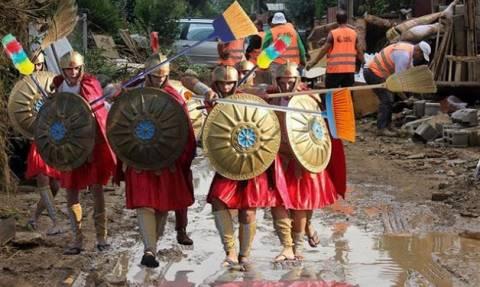 Οι Σκοπιανοί σατιρίζουν την …λατρεία του Γκρούεφσκι με τους αρχαίους Μακεδόνες (pics)