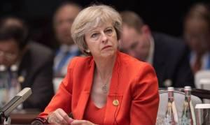 Τερέζα Μέι: Να γίνει η Βρετανία παγκόσμιος ηγέτης στο ελεύθερο εμπόριο