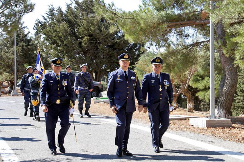Πολεμική Αεροπορία: Παράδοση-Παραλαβή Διοίκησης του 3ου ΚΕΠ στη Ζήρο της Κρήτης