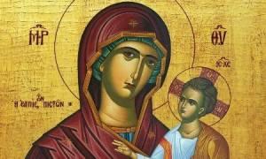 Ολυμπία: Περίεργο περιστατικό με εικόνα της Παναγίας