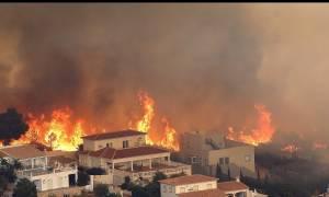 Ισπανία: Μεγάλη πυρκαγιά στη Βαλένθια - Aπειλεί κατοικημένες περιοχές (pics+vid)