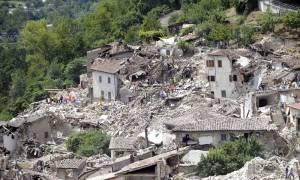 Ιταλία: Το πτώμα ενός Αφγανού ανασύρθηκε από τα ερείπια στην πόλη Αματρίτσε