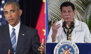 ΗΠΑ: Σοβαρό διπλωματικό επεισόδιο με τις ύβρεις του Προέδρου των Φιλιππίνων κατά του Ομπάμα (Vid)