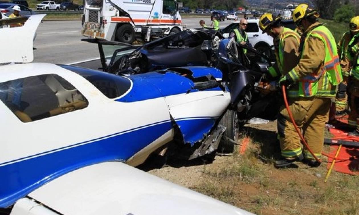 Σκόπια: Κατέπεσε ιδιωτικό αεροσκάφος με 6 επιβαίνοντες