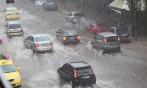 Προβλήματα από την κακοκαιρία και στην Θεσσαλονίκη