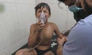 Συρία: Βόμβες χλωρίου «πνίγουν» παιδιά κι αμάχους στο Χαλέπι