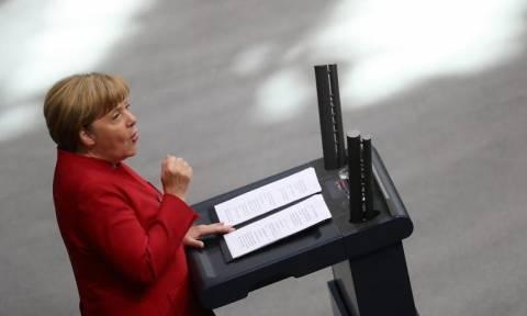 Γερμανία: Δυναμικά επέστρεψε η Μέρκελ σε ομιλία της στη γερμανική Βουλή (Vid)