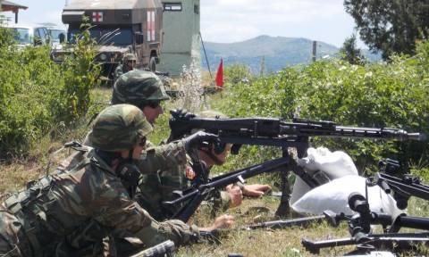 Στρατός ξηράς: Εκπαίδευση μηχανοκίνητης μεραρχίας Πεζικού (pics)