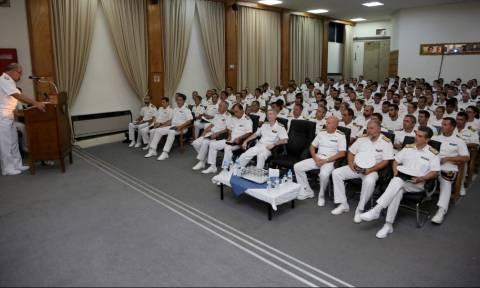 Πολεμικό Ναυτικό: Ο Α/ΓΕΝ στη Διοίκηση Φρεγατών του Αρχηγείου Στόλου