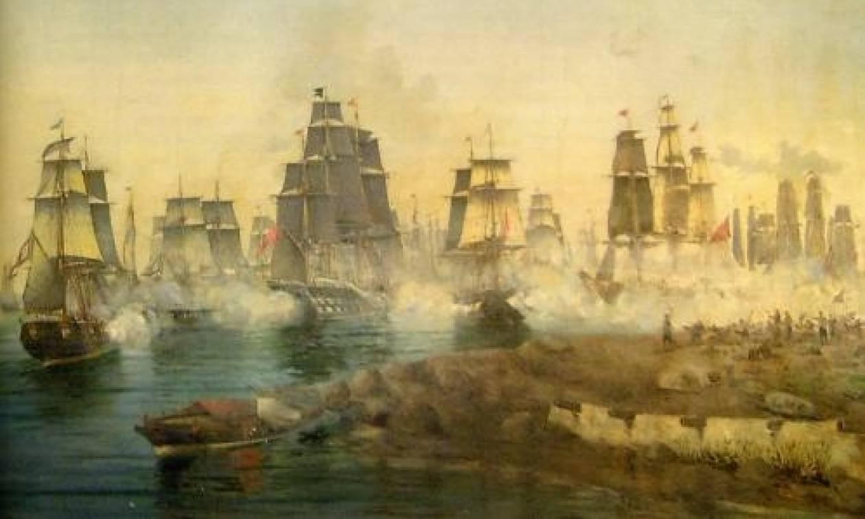 Σαν σήμερα το 1822 διεξάγεται η ναυμαχία των Σπετσών