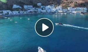 Ήξερες πως στην Κρήτη υπάρχει ένα εξωπραγματικό μέρος που θυμίζει… Κυκλάδες;