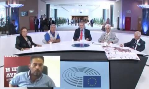 Γερμανικές αποζημιώσεις: Παρέμβαση του Newsbomb.gr σε εκδήλωση του Μαριά στις Βρυξέλλες (vid)