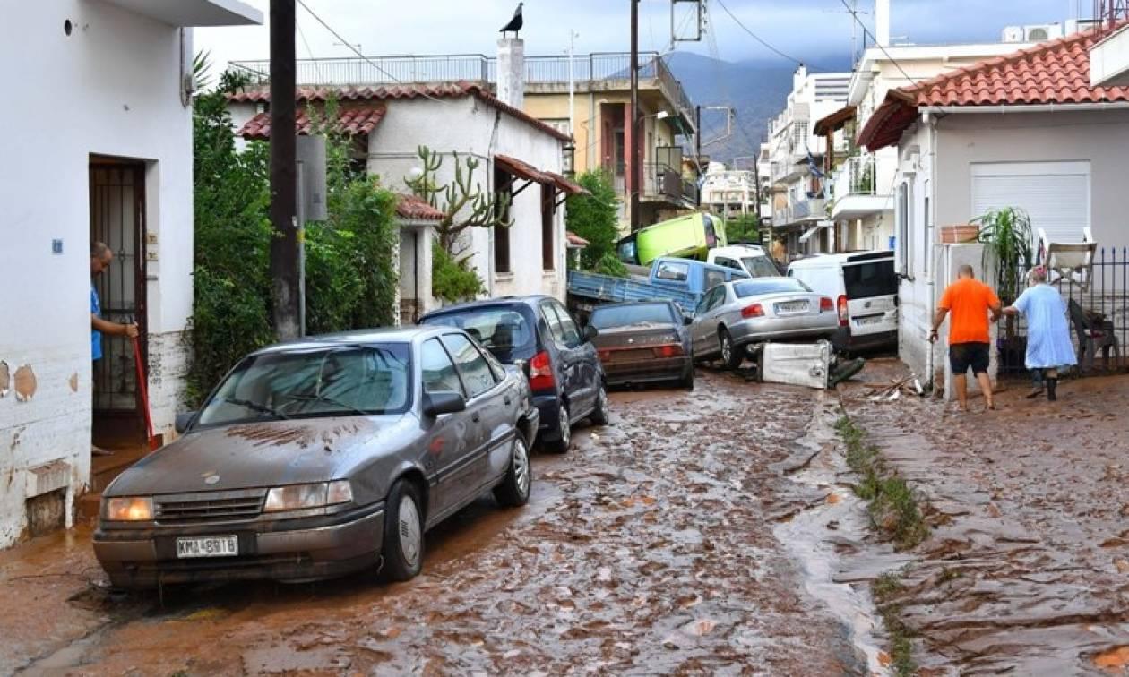 Μεσσηνία: Σαμαράς και Καραμανλής στις πληγείσες περιοχές