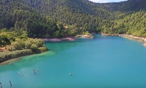 Λίμνη Τσιβλού… το κρυφό «διαμάντι» της Αχαΐας (video)