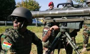 Κούρδοι: Παραλαμβάνουν νέα παρτίδα γερμανικών όπλων