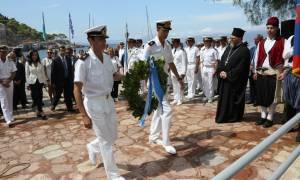 Πολεμικό Ναυτικό: Εκδήλωση στην μνήμη ναυτών που πολέμησαν στης Αργεντινή (pics)