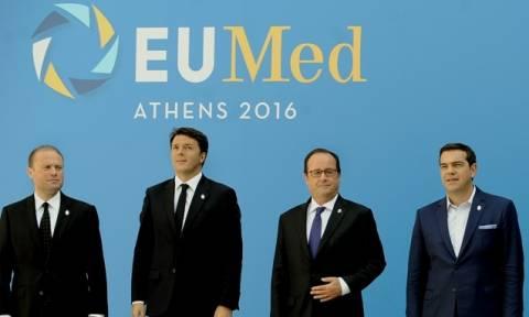 Ευρωμεσογειακή Σύνοδος: Η Ευρώπη είναι μία μηχανή που λειτουργεί μόνο το φρένο