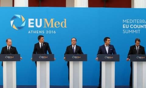 Ευρωμεσογειακή Σύνοδος: Προσφυγικό και ανεργία ψηλά στην ατζέντα της Ευρώπης