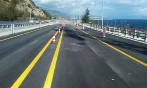 «Μετ' εμποδίων» η κυκλοφορία στην Ε.Ο. Κορίνθου - Πατρών τη Δευτέρα (12/9)