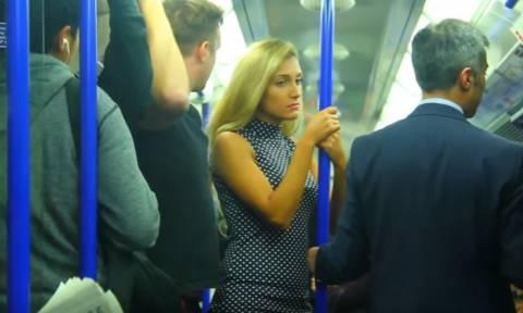 Σεξουαλική παρενόχληση γυναίκας σε μετρό - Δεν φαντάζεστε τι έγινε μετά… (vid)