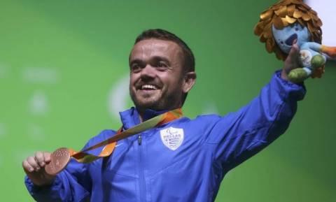 Παραολυμπιακοί 2016: «Χάλκινος» στην Άρση Βαρών ο Μπακοχρήστος