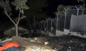 Χαμός στη Μόρια: Άγρια επεισόδια μετά από φήμη για νεκρούς μετανάστες