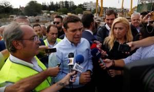 ΔΕΘ 2016 - Τσίπρας: Το Μετρό Θεσσαλονίκης ξαναμπήκε στις ράγες