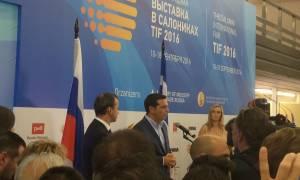 ΔΕΘ 2016: Ο Τσίπρας στο περίπτερο της Ρωσίας (photos)