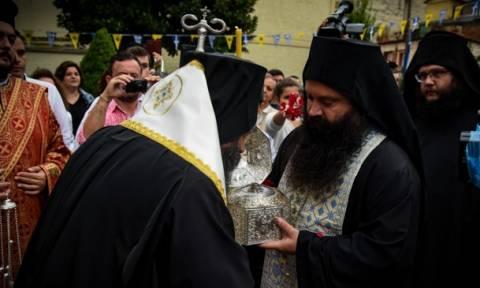 Η Τιμία Κάρα του Αγίου Νεομάρτυρος Ιωάννου του εκ Τερόβου στα Ιωάννινα (video)