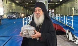 Η Τιμία Κάρα του Αγίου Παντελεήμονος στην Κρήτη μέχρι 18 Σεπτεμβρίου