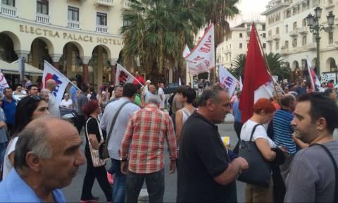81η ΔΕΘ: Ηχηρό μήνυμα από χιλιάδες διαδηλωτές στον Τσίπρα